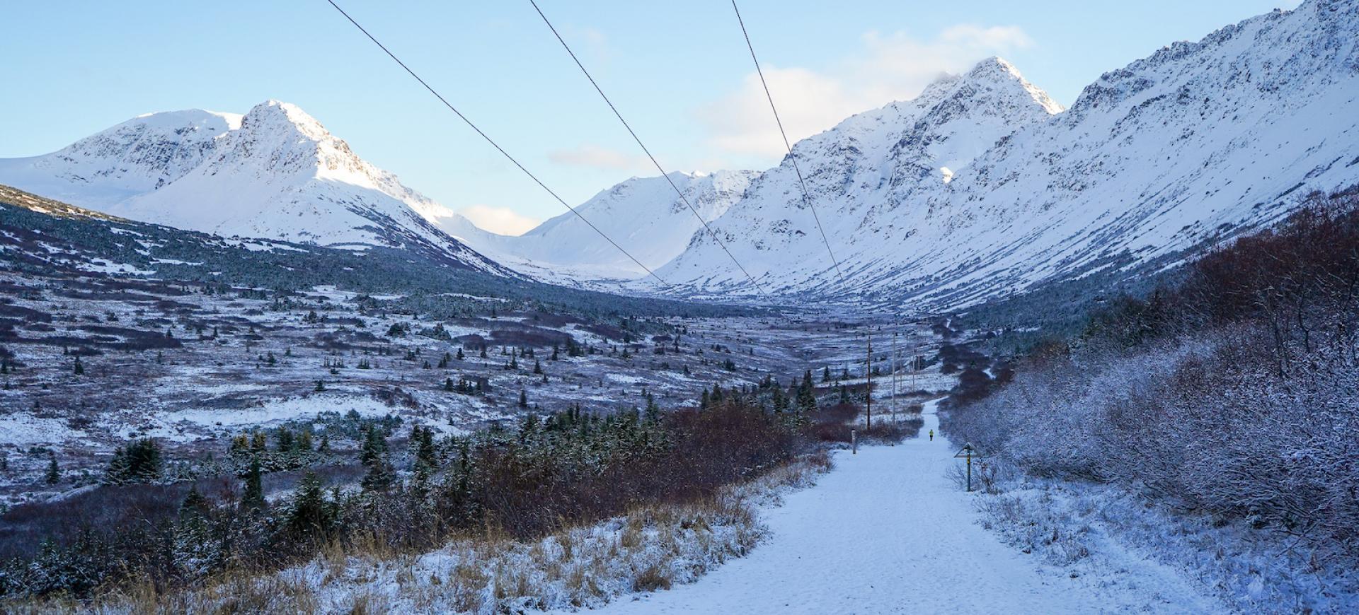 góry-alaska-zima
